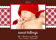 Baby Holiday Cards - Lil Sweet Tidings
