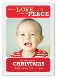 Christmas Gift -  Baby Holiday Cards