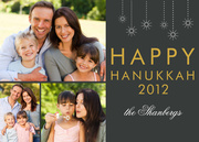 Hanukkah photo cards - Hanukkah Stars