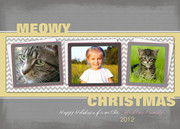 Merry Kitty-Dog Christmas Cards