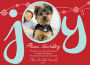 All Yours-Dog Christmas Cards