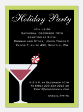 Peppermint Cheers - Holiday Party Invitations