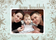 Hanukkah photo cards - Winter Love