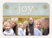 Silver Joy Stamp
