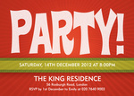 Party On! - Christmas Party Invitations