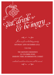 Let's Get Merry! - Christmas Party Invitations