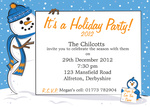 Penguin's Party -  Christmas Invitations