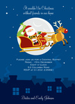 Santa Party - Christmas Party Invitations