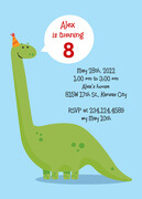 Boy Birthday Invitations - Dino Days