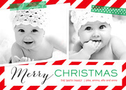 Christmas Tape - Baby Christmas Cards