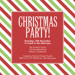 Color Me Christmas - Christmas Party Invitations