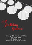 Holiday Soiree - Christmas Party Invitations
