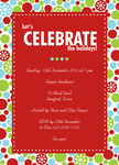On The Bubbles! - Christmas Party Invitations