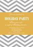 Gold 'n Silver - Christmas Party Invitations