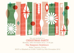 Party Stamps - Christmas Party Invitations