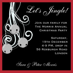 Bells Party - Christmas Party Invitations