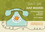 Call Away - Change of Address Cards
