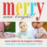 So Merry! - Baby Christmas Cards