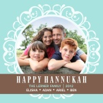 Star Circle - Hanukkah Cards