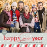 Happy Stripes - New Year Cards