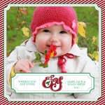 Joy Bud -  Babys First Christmas Cards