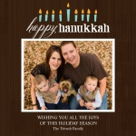 Menorah Flame - Hanukkah Cards