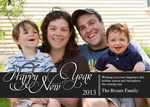 Favorite Font -  Happy New Year Cards
