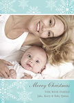 Blue Sweet Christmas - Baby Christmas Cards