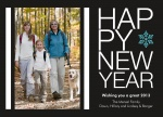 Modern Band -  Happy New Year Cards