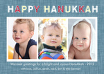 Hanukkah Denim - Hanukkah Cards