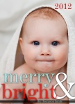 Baby Bright - Baby Christmas Cards
