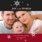 Vermillion Joy -  Babys First Christmas Cards