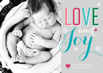 Such Love! -  Babys First Christmas Cards