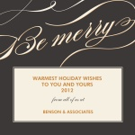 Elegant Merry -  Christmas Cards for Business