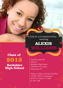 graduation party invitations - Her Celebration