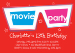Movie Night -  Sweet 16 Invitations