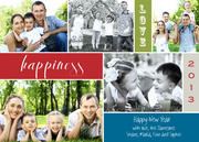 Cherry Happiness -  happy new years cards