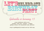 Super Font -  Sweet 16 Invitations
