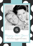 Polka Wrap -  Happy New Year Cards