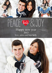 Love & Joy -  Happy New Year Cards