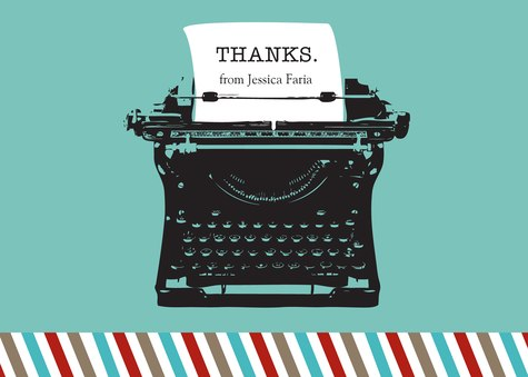Thank You Cards for Women, Vintage Type Design