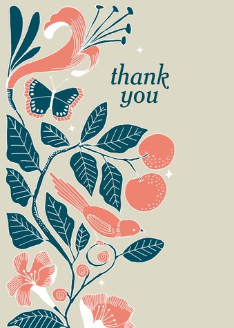 Thank You Cards for Women, Delightfully Design