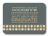 Graduation Announcements - Argyle Band