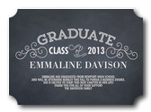 Chalkboard Grad