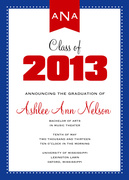 Photo Graduation Announcements - Big Red Grad