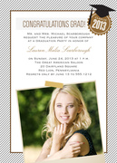 graduation party invitations - Class Topper