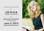 Graduation Announcements - Classic Portrait