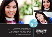 Class Stamp - graduation party invitations