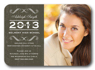 Shimmer Sweet - graduation party invitations