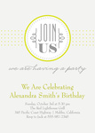 Adult Birthday Invitations - Sweet Chic